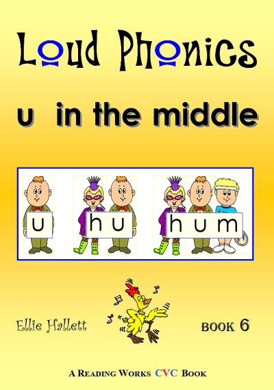 CVC phonics book - u in the middle