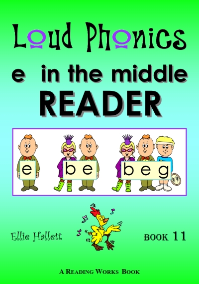 CVC - e in the middle READER