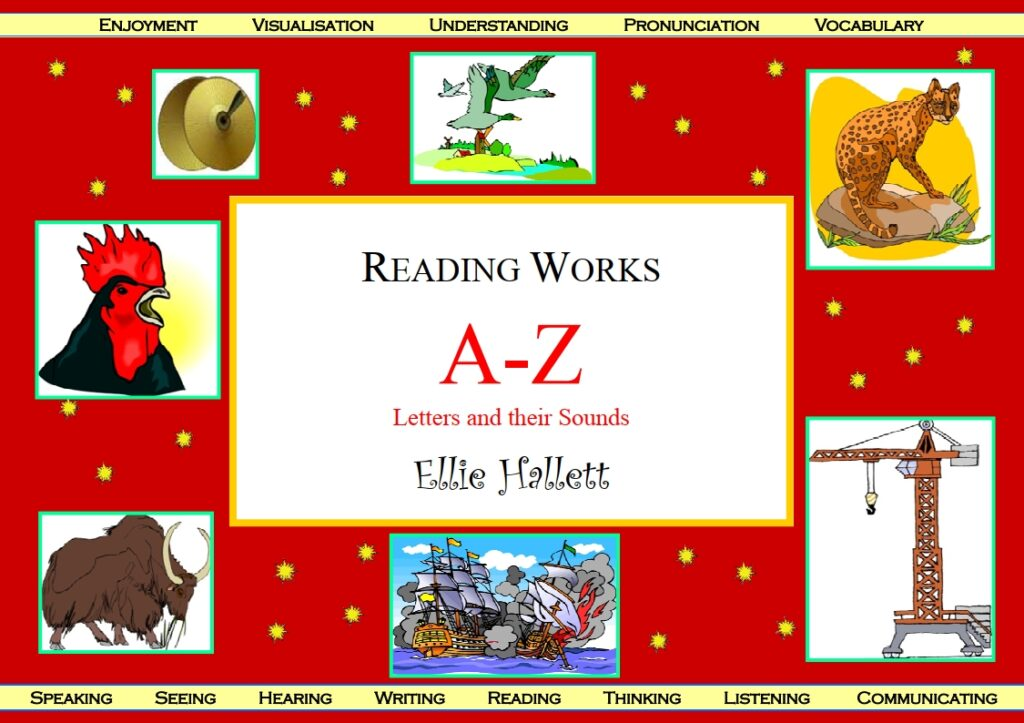 A to Z letters and their sounds in English
