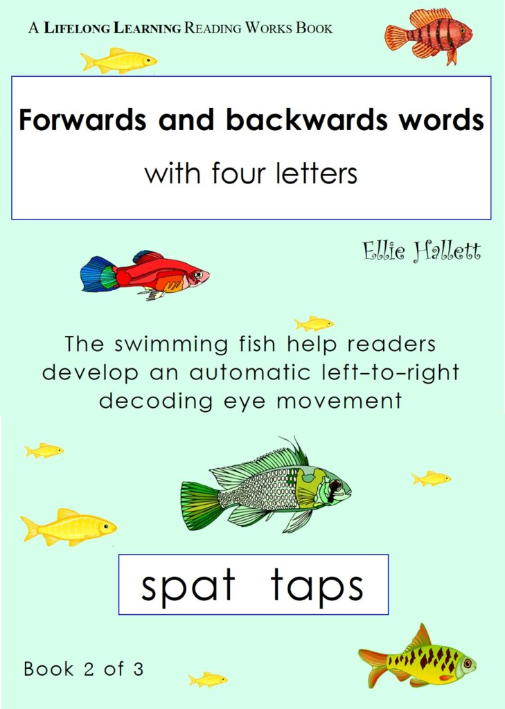 Forwards and backwards words. Book 2 - four-letter words