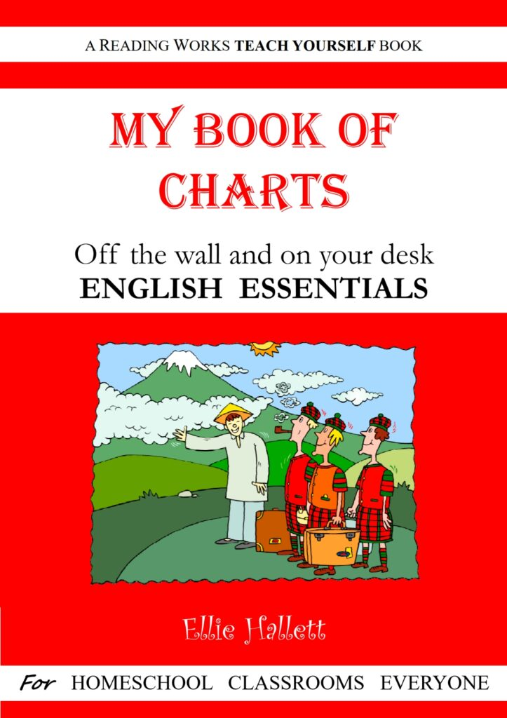 My Book of Charts - off the wall and on your desk!