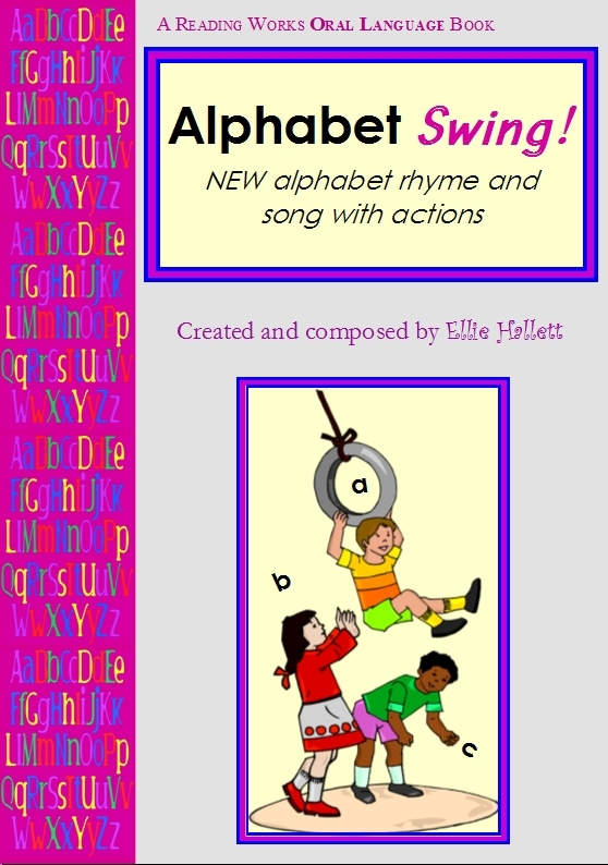 Alphabet Swing! The NEW alphabet song and poem. The Alphabet as you have never seen or heard it before.