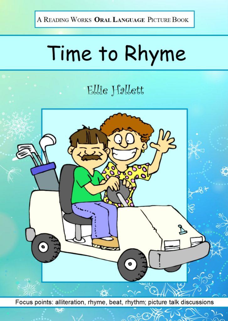 Time to Rhyme by Ellie Hallett